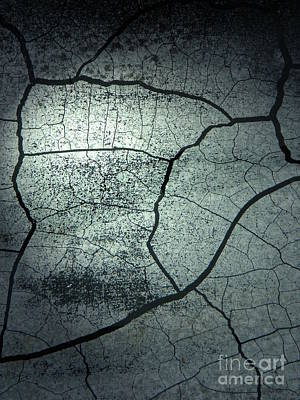 Neurotic Images Photograph - Cracks by Chalet Roome-Rigdon