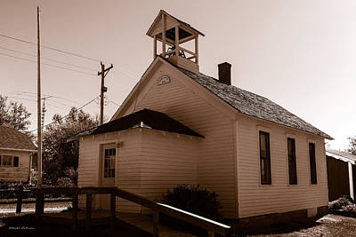 Photograph - Cramer School 1875 by Edward Peterson