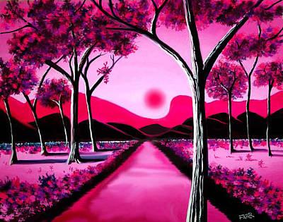 Cranberry Forest Art Print by Steve Farr