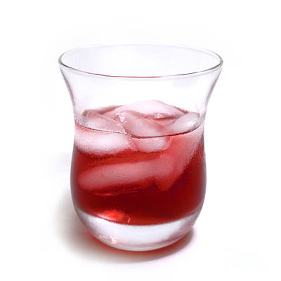 Cranberry Juice Print by Blink Images