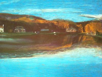 Crandon Lakes In November Art Print by Samuel McMullen