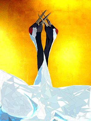 Tcity Digital Art - Cranes by Ilias Athanasopoulos