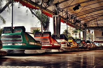 Photograph - Crash Cars by Gabriel Calahorra