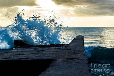 Photograph - Crashing Blue by Rene Triay Photography