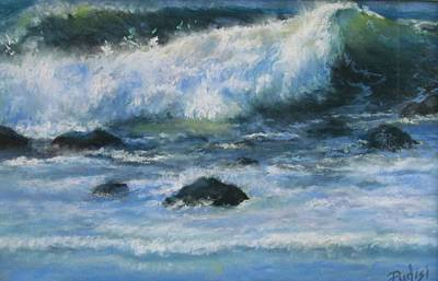 Pastel - Crashing Wave by Bill Puglisi