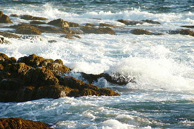 Photograph - Crashing Waves by Joe Faherty