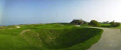 Photograph - Cratered Pointe Du Hoc by Jan W Faul