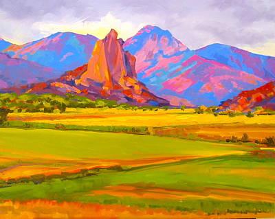 Painting - Crawford Rock by Sarah Gayle Carter