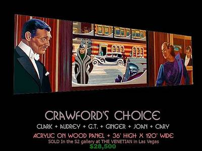 Joan Crawford Painting - Crawford's Choice by George Torjussen