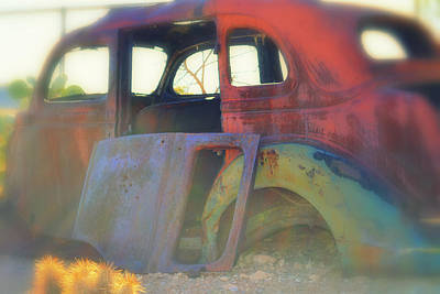 Photograph - Crayola Car by Diane montana Jansson