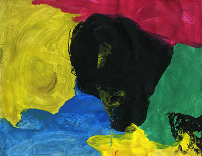 Painting - Crazy by Bella