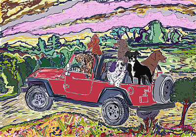 Crazy Cruzin' Dogs Original