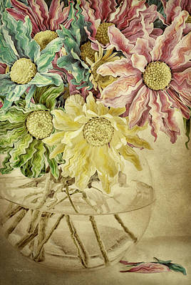 Photograph - Crazy Daisies by Cheryl Davis