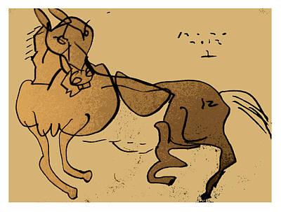 Crazy Horse Art Print by Peter Szabo