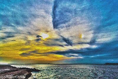 Photograph - Crazy Sky by Shannon Harrington