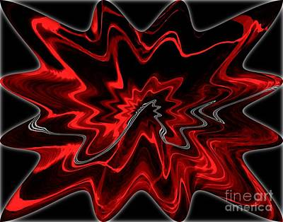 Digital Art - Crazy Vibe by Dale   Ford