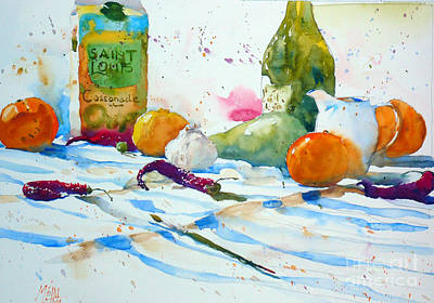 Stil Life Painting - Creamer And Cassonade by Andre MEHU