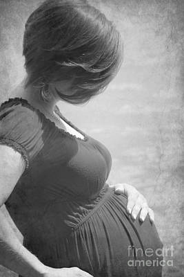 Pregnant Woman Photograph - Creating A Life by Sophie Vigneault