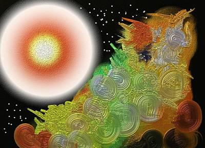 Creation's Beginning  Art Print
