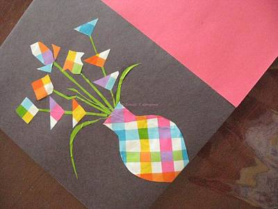 Creative Mind Unfolds  Art Print by Sonali Gangane