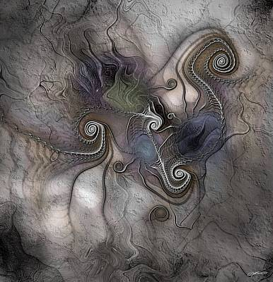 Digital Art - Creatively Calcified by Casey Kotas