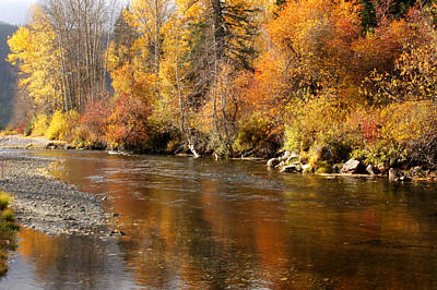 Creek Of Leavenworth Art Print