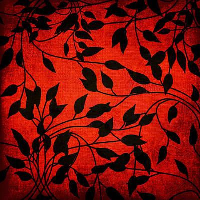 Creeping Vines Art Print by Bonnie Bruno