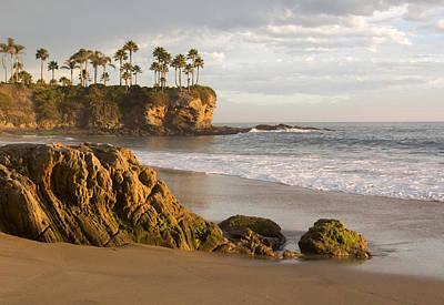 Photograph - Crescent Bay Beach Laguna by Cliff Wassmann