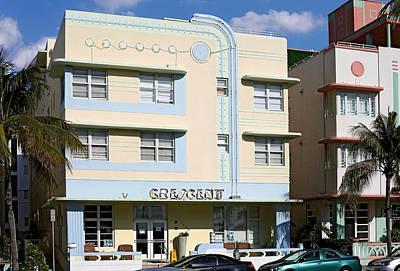 Photograph - Crescent Hotel. Miami. Fl. Usa by Juan Carlos Ferro Duque