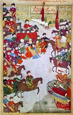 Photograph - Crimea: Mongols, 1592 by Granger