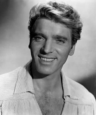 Crimson Pirate, The, Burt Lancaster Art Print by Everett
