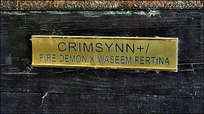 Photograph - Crimsynn 2009 by Glenn Bautista