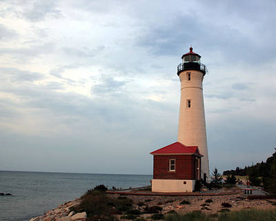 Photograph - Crisp Point Lighthouse by George Jones