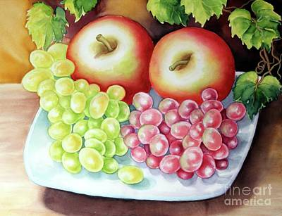 Painting - Crispy Fruits by Inese Poga