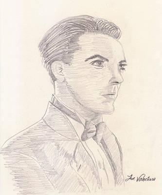 Sketch Photograph - Cristian Castro by M Valeriano