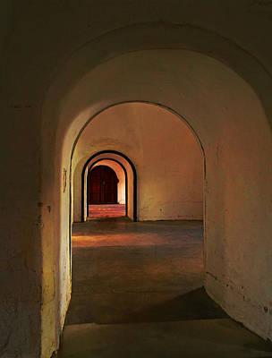 Art Print featuring the photograph Cristobal Corridor by Deborah Smith