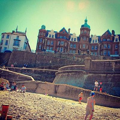 Victorian Wall Art - Photograph - #cromer #beach And The #sea #reflecting by Alexandra Cook