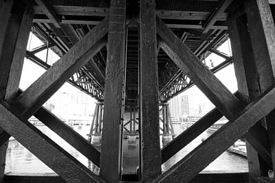 Cross-bar Photograph - Cross-bars by Douglas Barnard