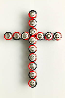 Cross Batteries 1 A Art Print by John Brueske