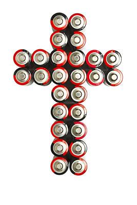 Cross Batteries 2 Art Print by John Brueske