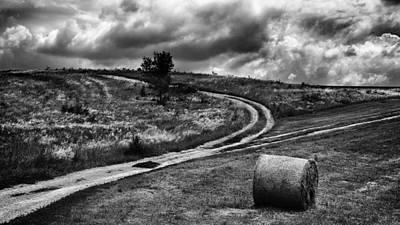 Cross-roads Art Print by Ferenc Farago Photograph Art