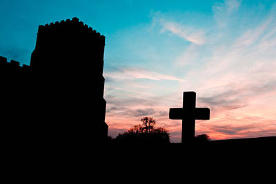 Jesus Photograph - Cross  by Tom Gowanlock