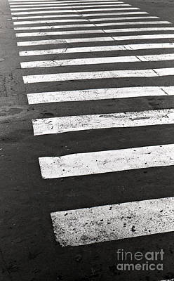 Cross Walk Art Print by Gabriela Insuratelu