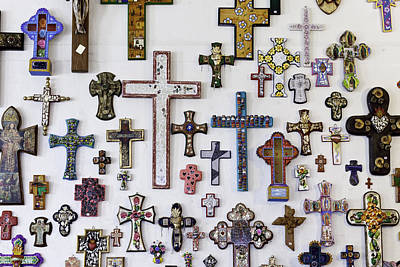 Photograph - Crosses by Mark Harrington