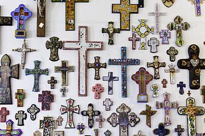 Photograph - Crosses by Mark Harrington