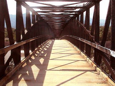 Crossing Over Print by Cristophers Dream Artistry