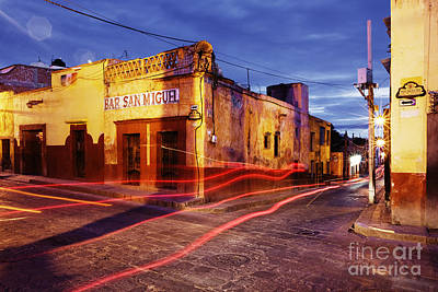 Bar San Miguel Photograph - Crossroads by Jeremy Woodhouse