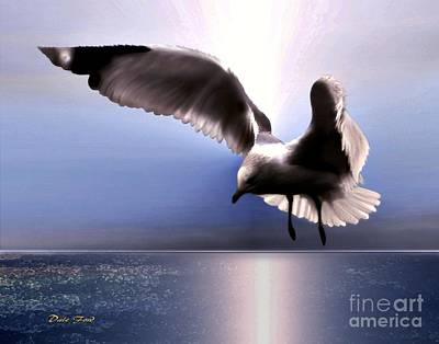 Digital Art - Crosswind by Dale   Ford