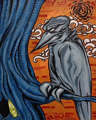 Crows In The Jungle Art Print by Joshua Dixon