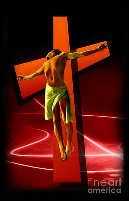 Crucifixion Original by Earl Jackson